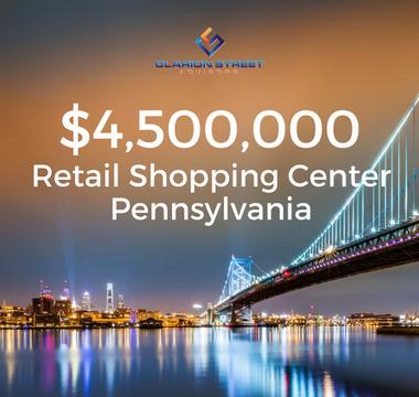 Retail Shopping Center PA