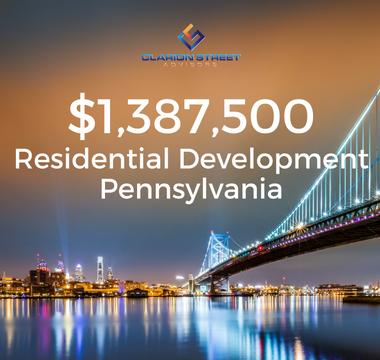 $1387500 Residential Development | PA