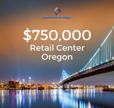 750000 Retail Center Oregon