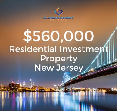 560000 Residential Investment NJ