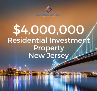4000000 Residential Investment NJ