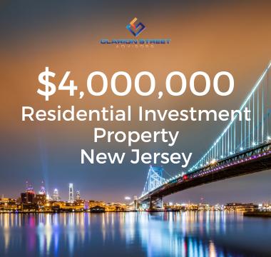 4000000 Residential Investment NJ